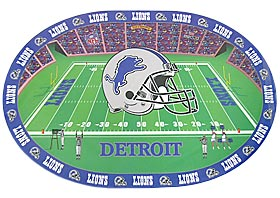 Detroit Lions Set of 4 Placemats