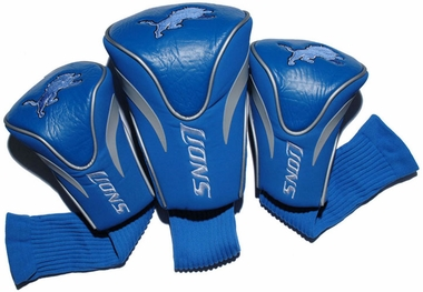 Detroit Lions Set of Three Contour Headcovers
