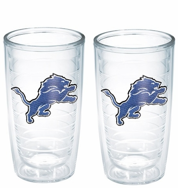 Detroit Lions Set of TWO 16 oz. Tervis Tumblers