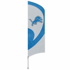 Detroit Lions Tall Team Flag