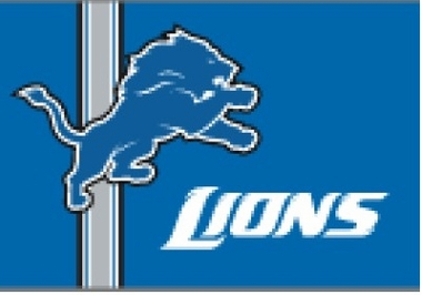 Detroit Lions Uniform Inspired 20 x 30 Rug