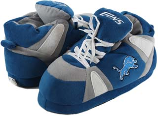 Detroit Lions UNISEX High-Top Slippers - Large
