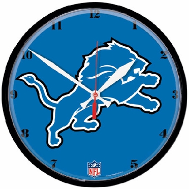 Detroit Lions Wall Clock