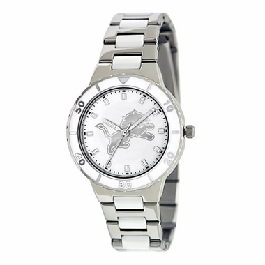 Detroit Lions Women's Pearl Watch