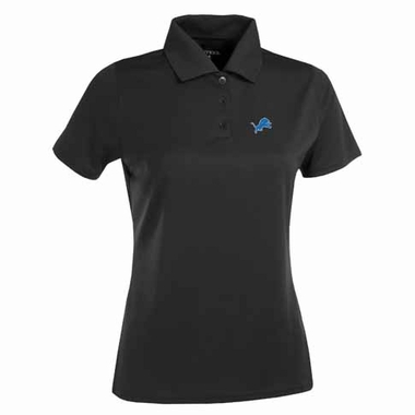 Detroit Lions Womens Exceed Polo (Team Color: Black)