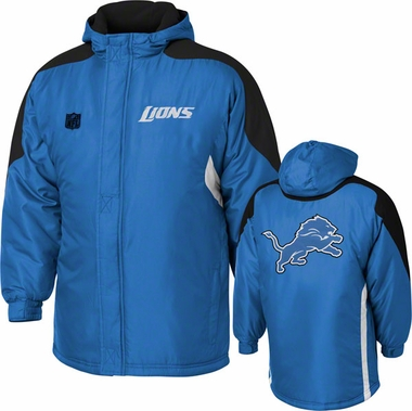 Detroit Lions YOUTH Field Goal Midweight Full Zip Hooded Jacket