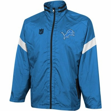 Detroit Lions YOUTH Goal Post Lightweight Full Zip Jacket