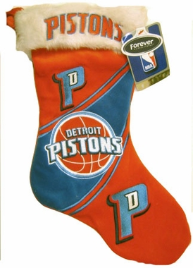 Detroit Pistons 07 Christmas Stocking