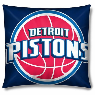Detroit Pistons 15 Inch Applique Pillow