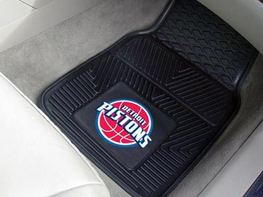 Detroit Pistons 2 Piece Heavy Duty Vinyl Car Mats
