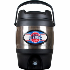 Detroit Pistons 3 Gallon Stainless Steel Jug