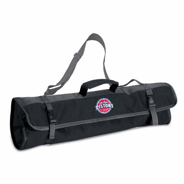 Detroit Pistons 3pc BBQ Tote (Black)