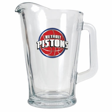Detroit Pistons 60 oz Glass Pitcher