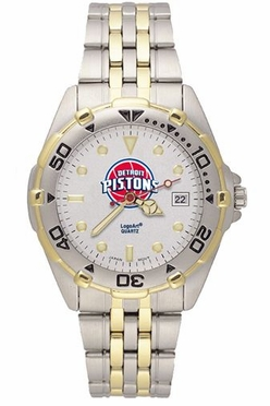 Detroit Pistons All Star Mens (Steel Band) Watch