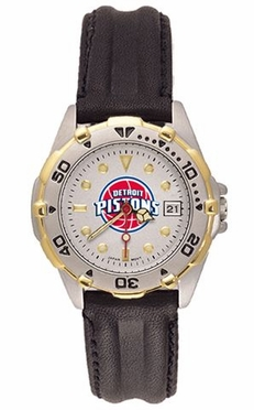 Detroit Pistons All Star Womens (Leather Band) Watch