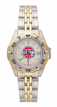 Detroit Pistons All Star Womens (Steel Band) Watch