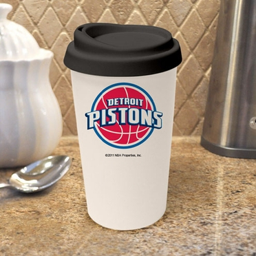Detroit Pistons Ceramic Travel Cup