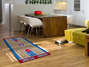 Detroit Pistons Court Runner Rug