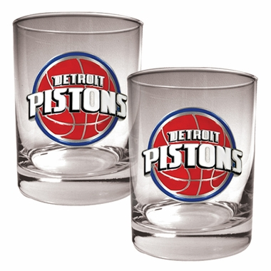 Detroit Pistons Double Rocks Set