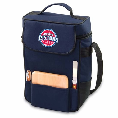 Detroit Pistons Duet Compact Picnic Tote (Navy)