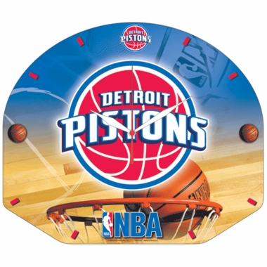 Detroit Pistons High Definition Wall Clock