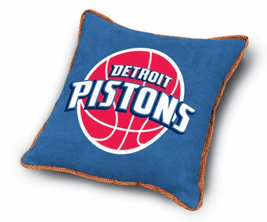 Detroit Pistons Microsuede Toss Pillow