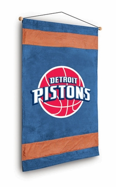 Detroit Pistons MVP Microsuede Wallhanging