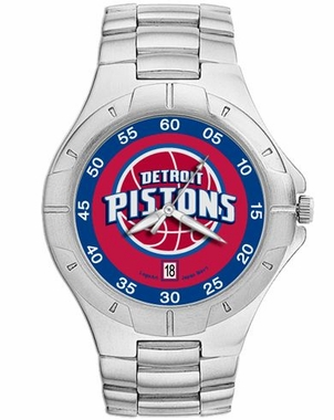 Detroit Pistons Pro II Men's Stainless Steel Watch