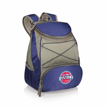 Detroit Pistons PTX Backpack Cooler (Navy)