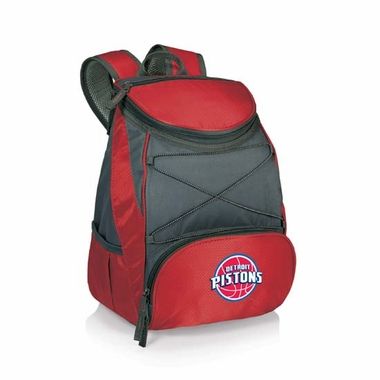 Detroit Pistons PTX Backpack Cooler (Red)
