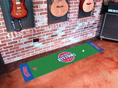 Detroit Pistons Putting Green Mat
