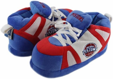 Detroit Pistons UNISEX High-Top Slippers