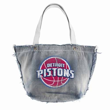 Detroit Pistons Vintage Shopper (Denim)