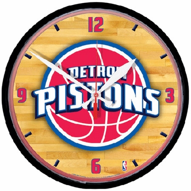 Detroit Pistons Wall Clock