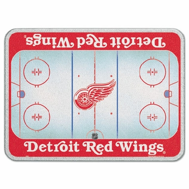 Detroit Red Wings 11 x 15 Glass Cutting Board