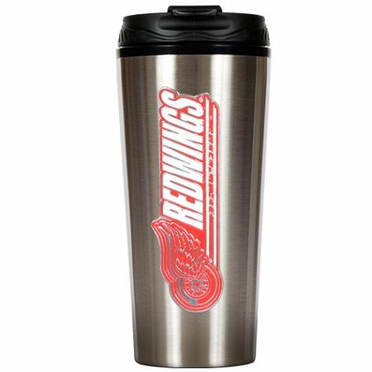 Detroit Red Wings 16 oz. Thermo Travel Tumbler