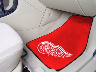 Detroit Red Wings 2 Piece Car Mats