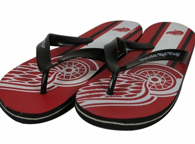 Detroit Red Wings 2012 Unisex Big Logo Flip Flops
