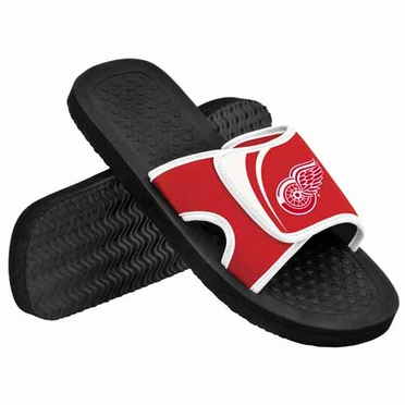 Detroit Red Wings 2013 Shower Slide Flip Flop Sandals