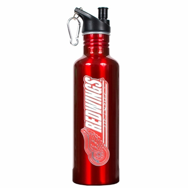 Detroit Red Wings 26oz Stainless Steel Water Bottle (Team Color)