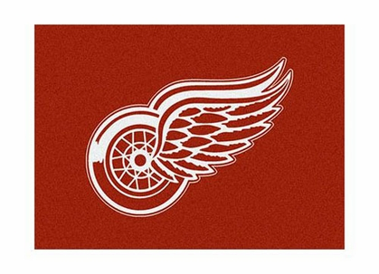 "Detroit Red Wings 3'10"" x 5'4"" Premium Spirit Rug"