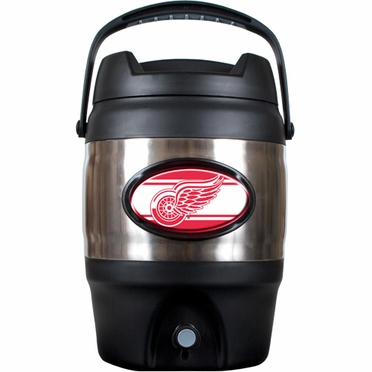 Detroit Red Wings 3 Gallon Stainless Steel Jug