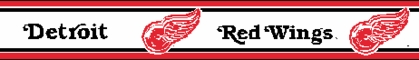 Detroit Red Wings 5.5 Inch (Height) Wallpaper Border