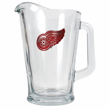 Detroit Red Wings 60 oz Glass Pitcher
