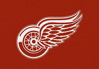 "Detroit Red Wings 7'8"" x 10'9"" Premium Spirit Rug"