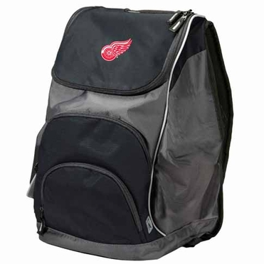 Detroit Red Wings Action Backpack (Color: Black)