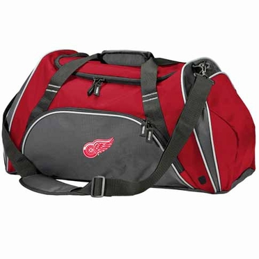 Detroit Red Wings Action Duffle (Color: Grey)