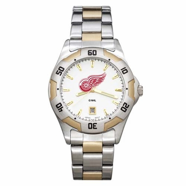 Detroit Red Wings All Pro Two Tone Watch