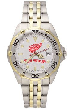 Detroit Red Wings All Star Mens (Steel Band) Watch