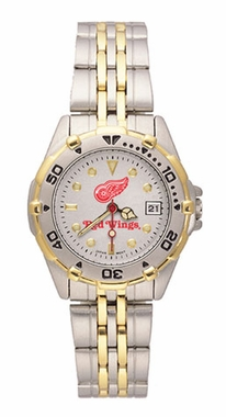 Detroit Red Wings All Star Womens (Steel Band) Watch